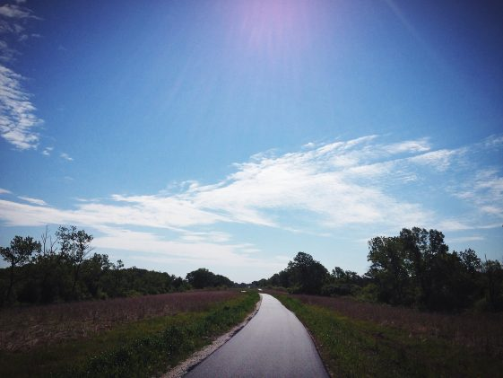 "First Time on the ""New"" Cal Sag Bike Trail – Lemont Section"
